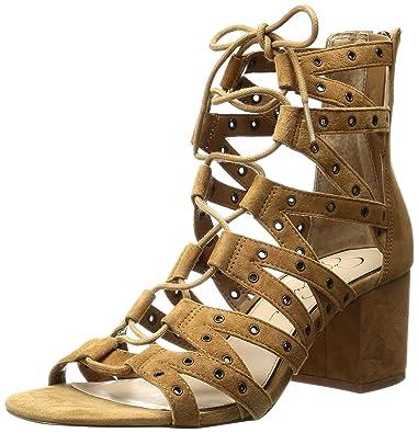 294e03b0698 Jessica Simpson Women s Haize Dress Sandal Honey Brown 5.5 ...