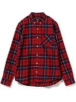 (ビームス) BEAMS / インディゴチェック ボタンダウンシャツ 17FW 11114344791