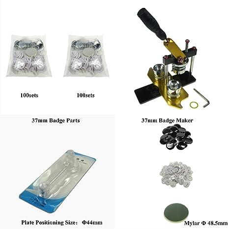 Sol 37 mm Rotación Tipo Manual - Placa & eléctrica botón máquina ...