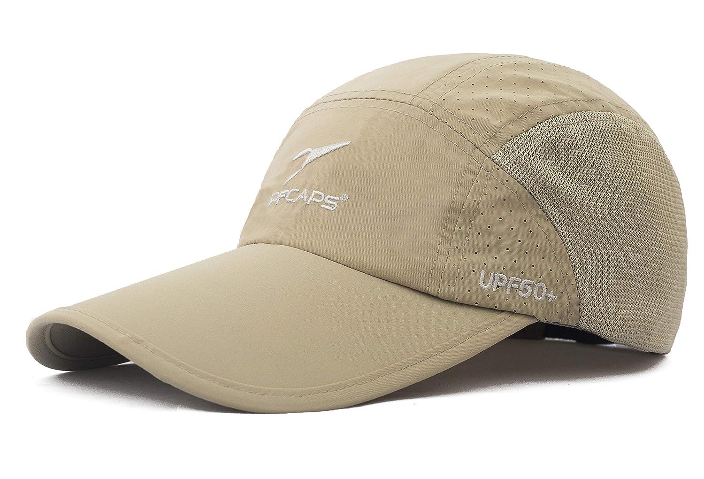 ELLEWIN Men's Baseball Cap Adjustable Sports Long Bill Hat for Big Head F-MZS0032BLK