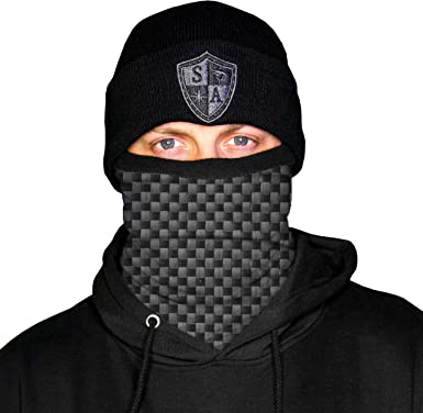Wind-Resistant Face Mask/& Neck Gaiter,Balaclava Ski Masks,Breathable Tactical Hood,Windproof Face Warmer for Running,Motorcycling,Hiking-Galaxy