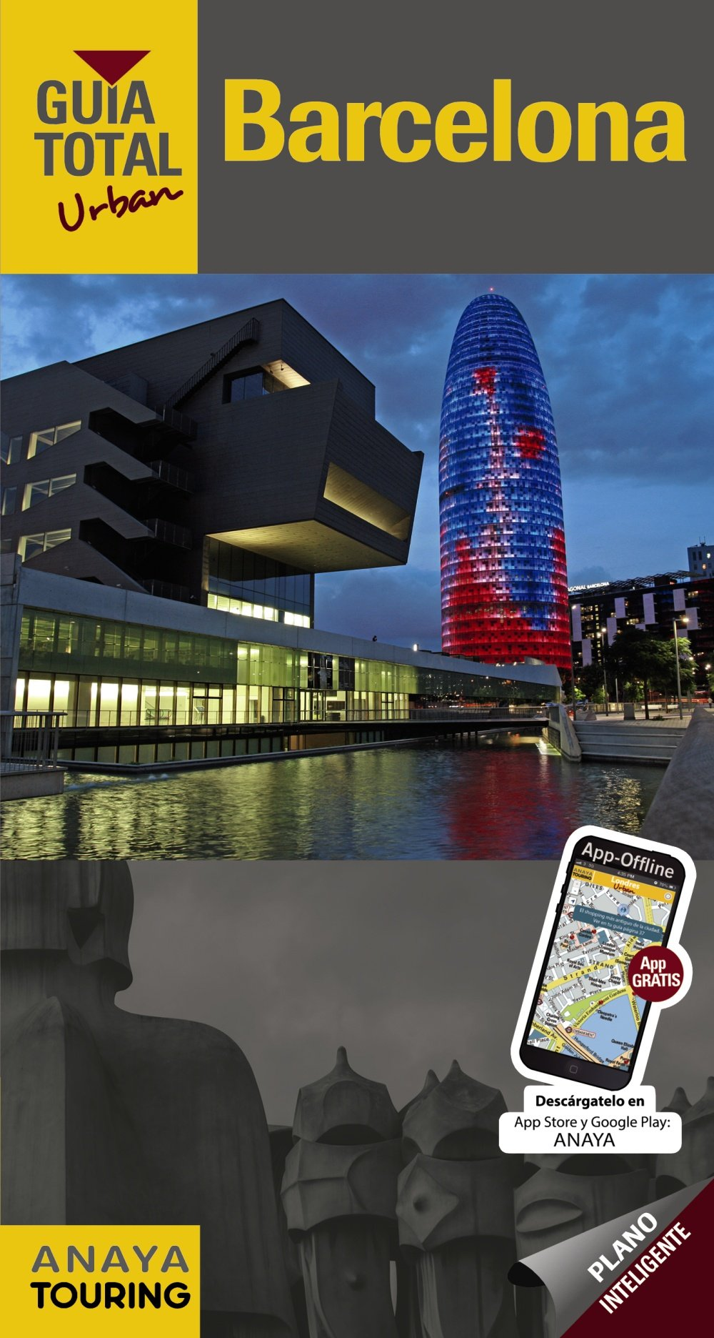 Barcelona (Urban) (Guía Total - Urban - España): Amazon.es: Anaya Touring, Martínez i Edo, Xavier: Libros