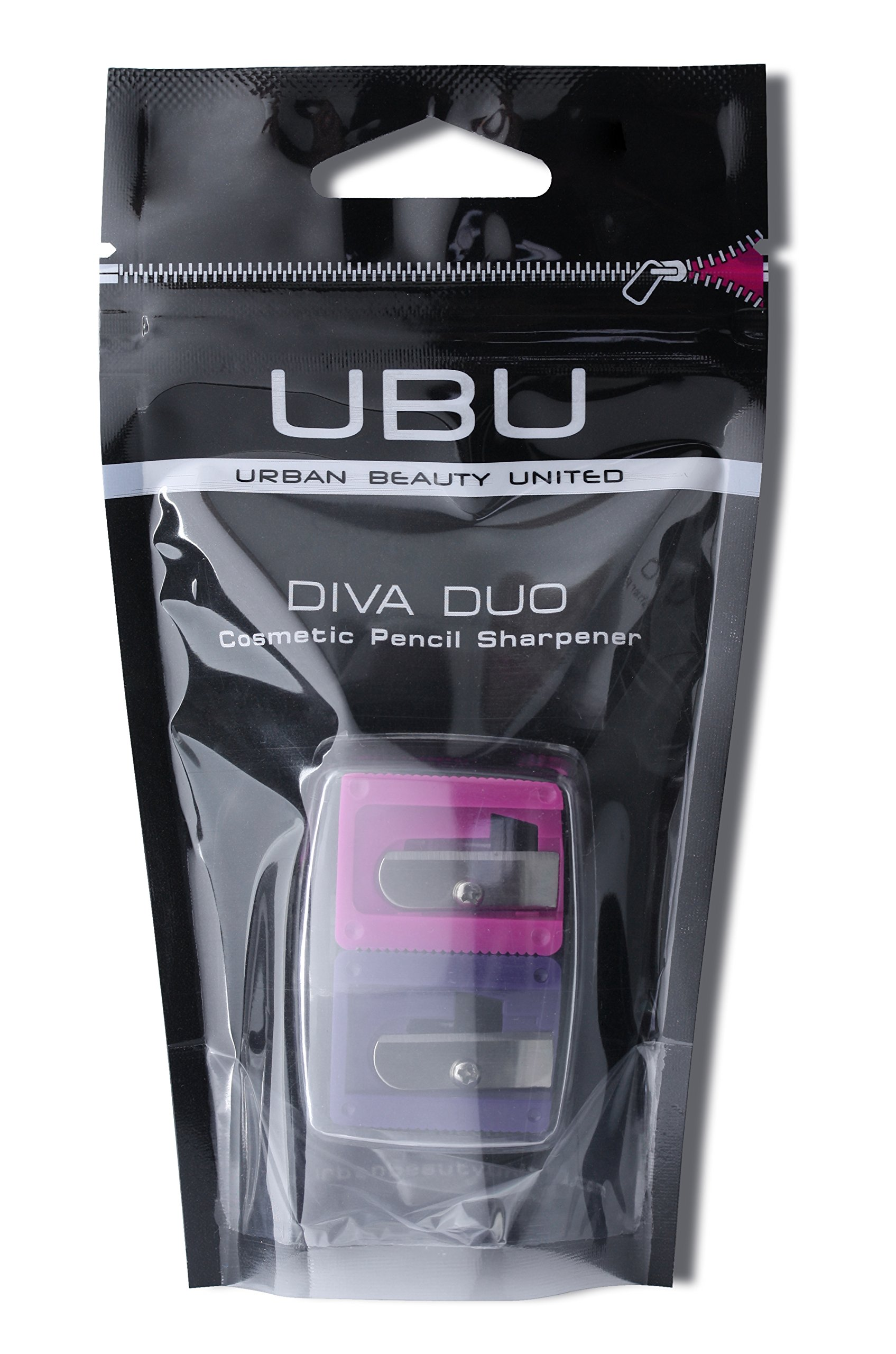 UBU Diva Duo Cosmetic Pencil Sharpener by Urban Beauty United