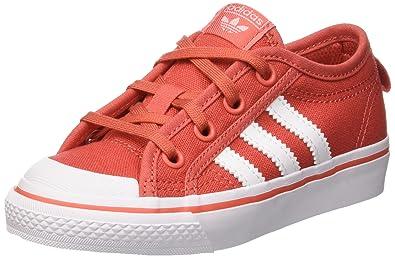 conception de la variété prix favorable regard détaillé adidas Nizza C, Chaussures de Basketball Mixte Enfant ...