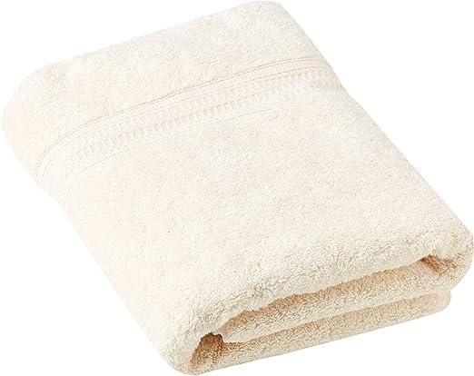 Cazsplash - Toalla de baño (algodón orgánico, 650 g/m², 70 x 130 ...