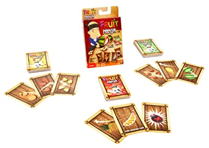 Amazon.com: Fruit Ninja Juego de cartas: Toys & Games