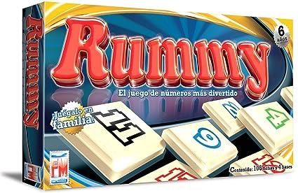 Amazon Com Fotorama Rummy Juego De Numeros Rummy Numbers Game