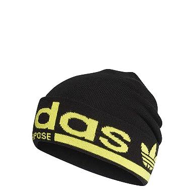 ADIDAS CAP Mütze schwarz gelb