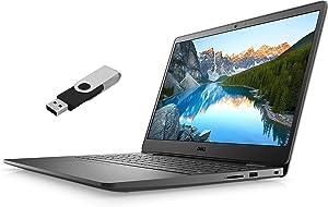 "2021 Dell Inspiron i3501 15.6"" FHD Laptop Intel 11th-Gen i5-1135G7 8GB DDR4 256GB NVMe SSD Intel Iris Xe Graphics HDMI Webcam Bluetooth Wi-Fi RJ-45 Windows 10 Home w/ Ontrend 32GB USB Drive"
