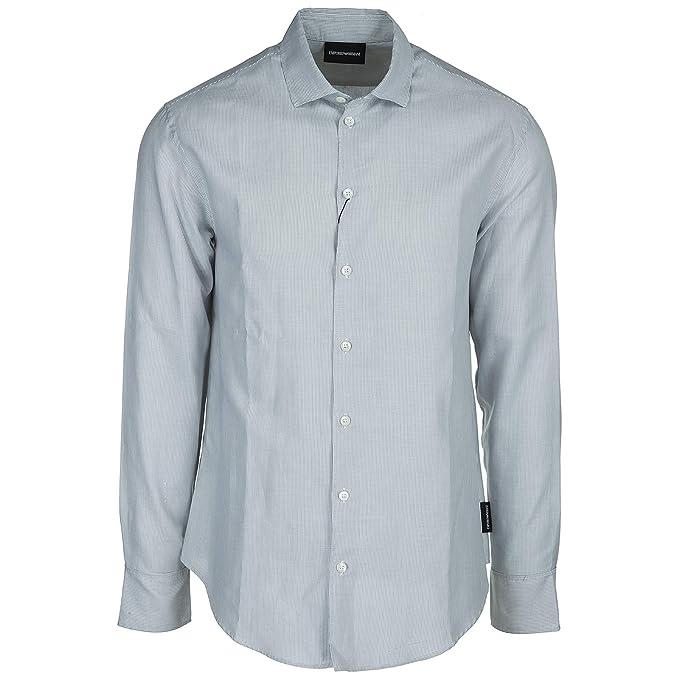 release date: a6a76 89552 Emporio Armani Camicia Uomo Bianco M: Amazon.it: Abbigliamento