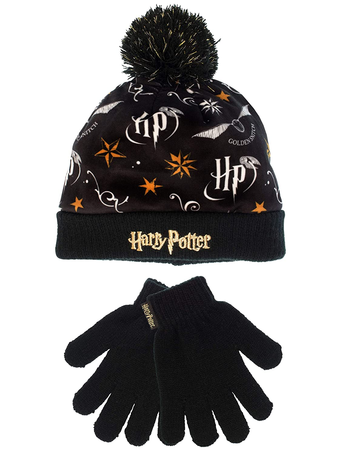 Harry Potter Girls Hat & Gloves Set One Size