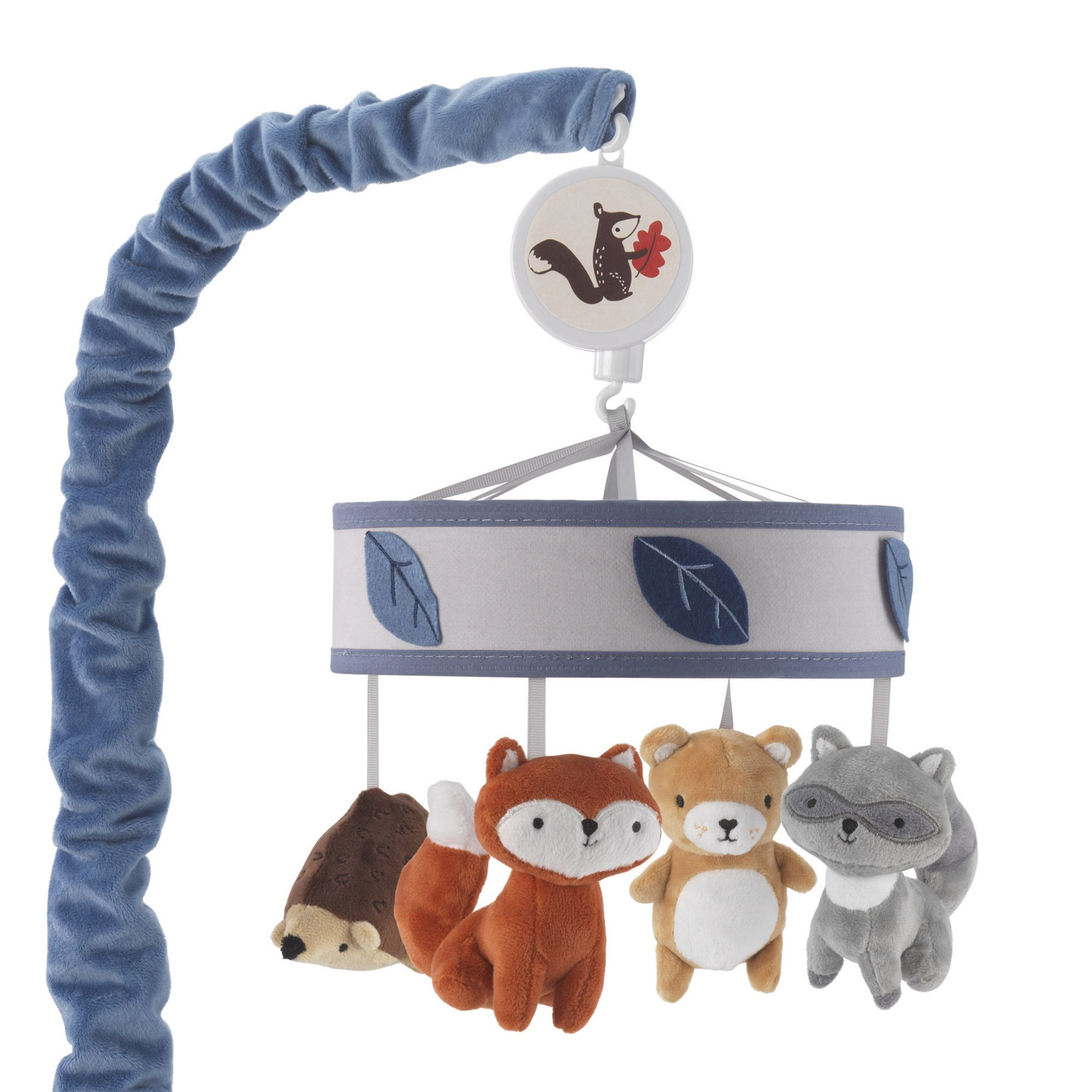 Lambs & Ivy(R) Little Campers Gray/ Blue Musical Mobile