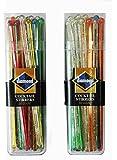 50-ct DIAMOND COCKTAIL PLASTIC STIRRERS (2 pack)