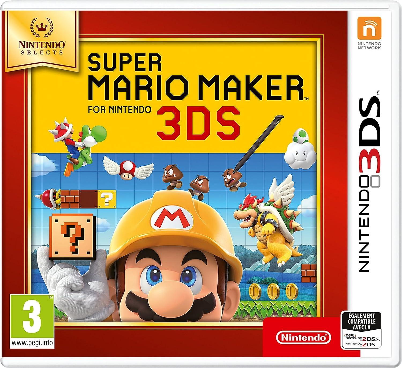 Super Mario Maker pour Nintendo 3DS - SELECTS [Importación ...