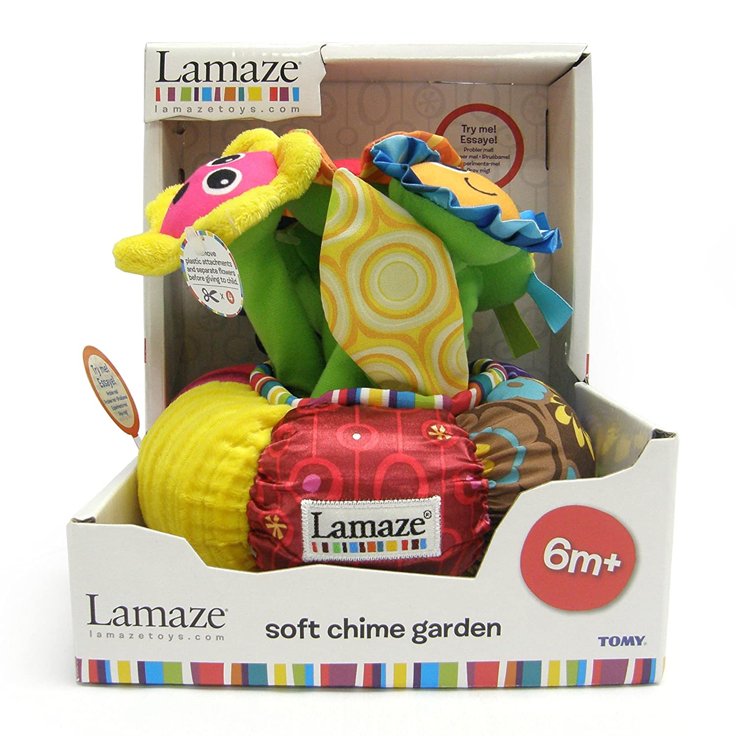 Amazon Lamaze Soft Chime Garden Baby Musical Toys Baby