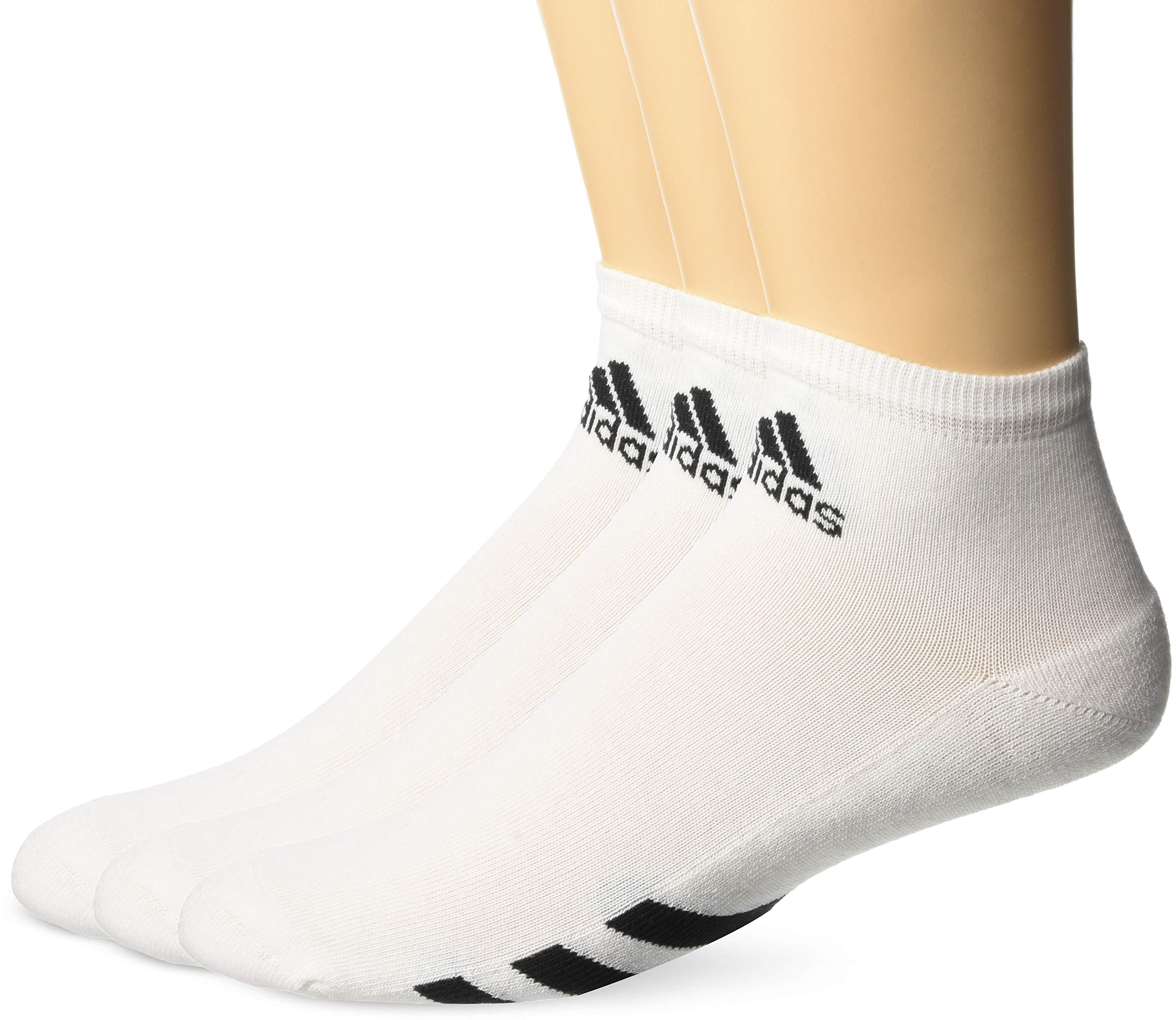 adidas Golf Men's 3-Pack Ankle Sock, White, 11-14 by adidas