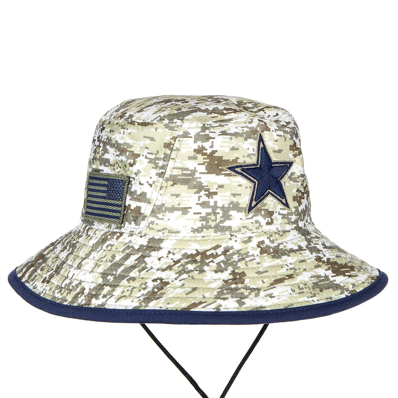 Amazon.com   Dallas Cowboys New Era Salute to Service Digi Camo Bucket Hat    Sports   Outdoors 27fb62de7