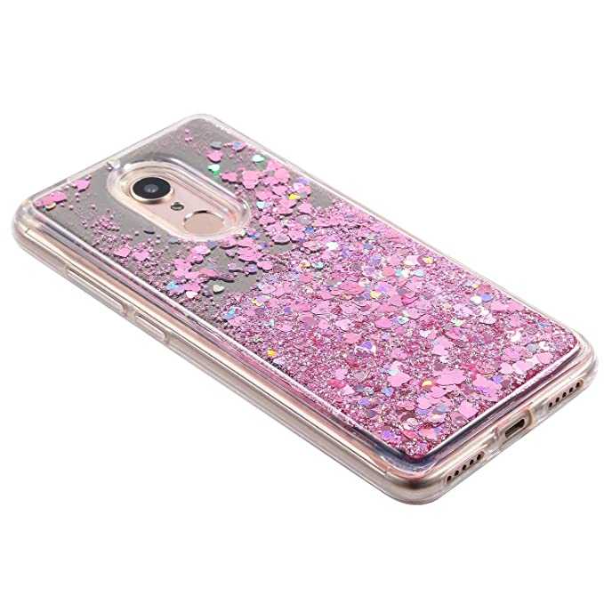 JAWSEU Funda Brillante Compatible con Xiaomi Redmi 5, Brillo Bling ...