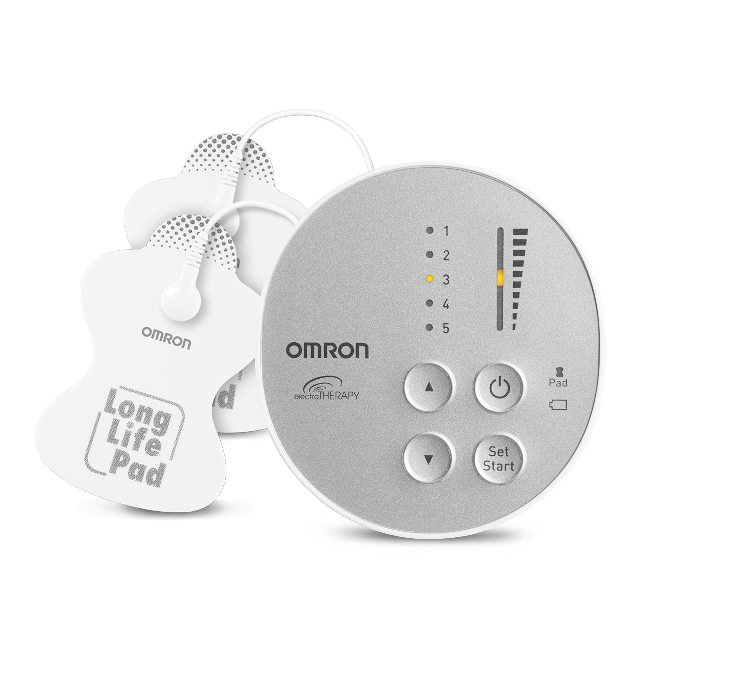 OMRON Pocket Pain Pro TENS Unit Muscle Stimulator, Simulated Massage Therapy for Lower Back, Arm, Foot, Shoulder and Arthritis Pain, Drug-Free Pain Relief (PM400)