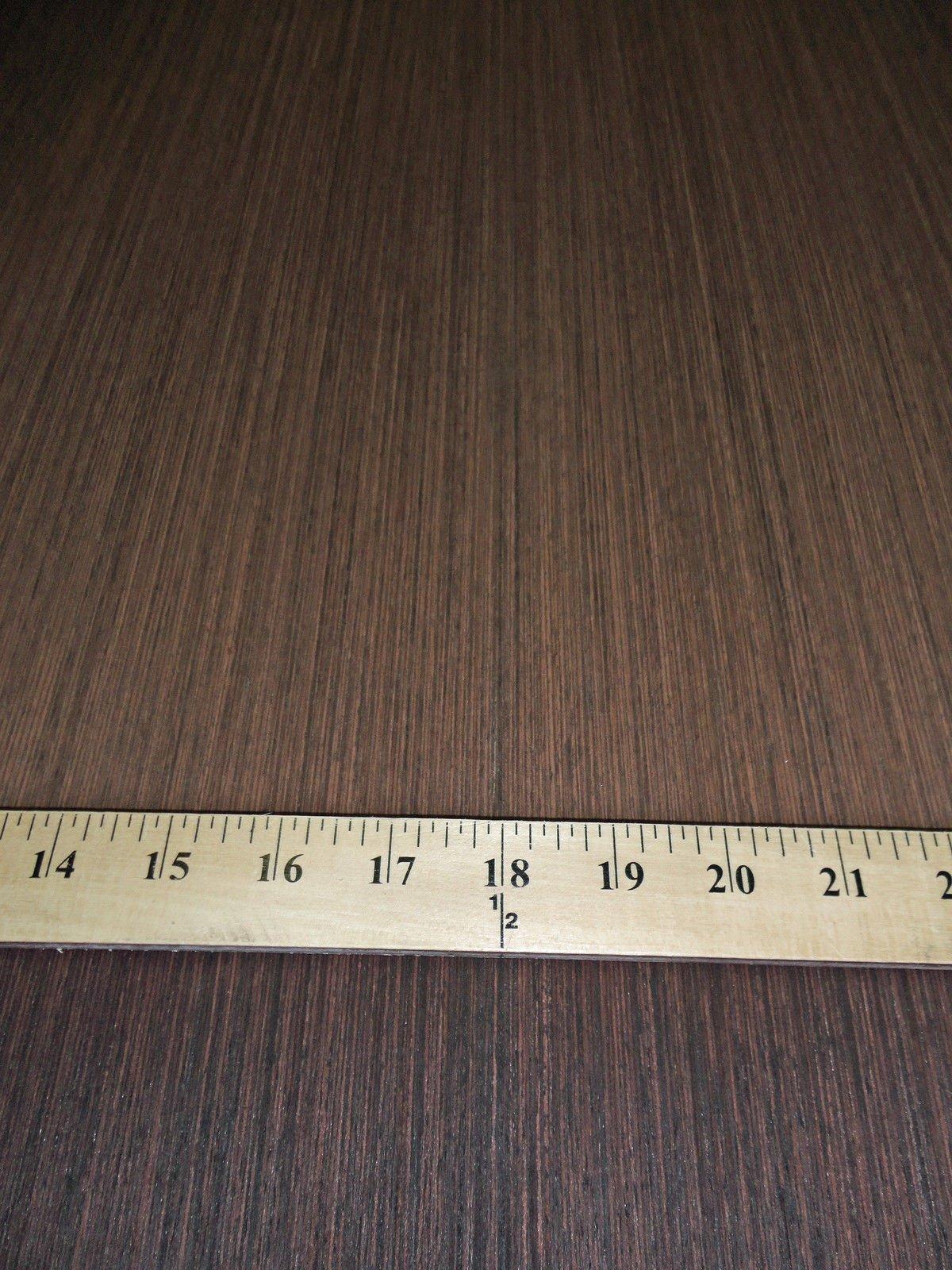 Wenge African (Dark) composite wood veneer 48'' x 96'' on paper backer (# 908)