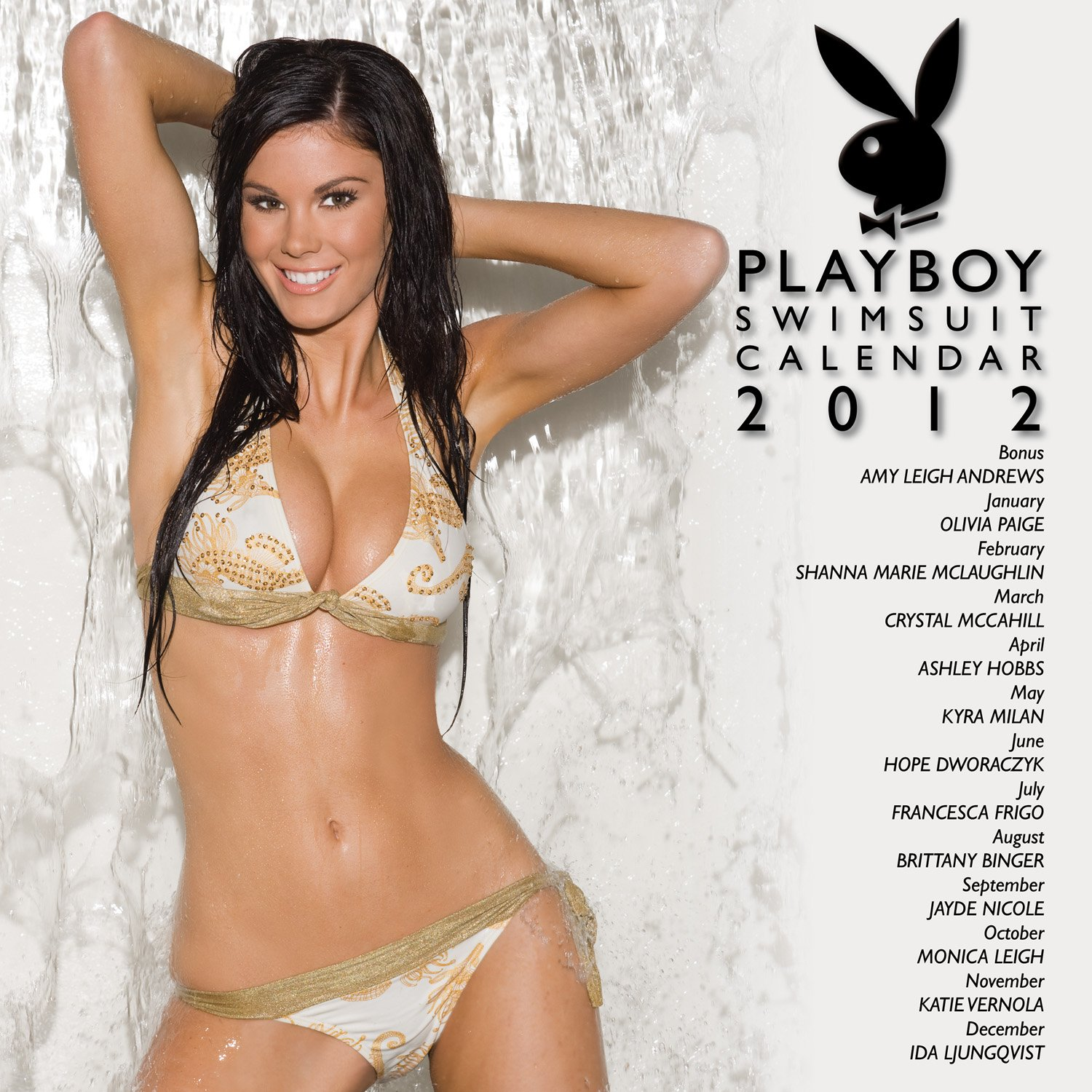 Amy leigh andrews pictures - 2012 Playboy Swimsuit 12x12 Wall Calendar Perfect Timing Turner 9781606778654 Amazon Com Books