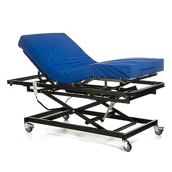 GERIALIFE® Cama articulada geriátrica hospitalaria con carro elevador (105x190 con colchon): Amazon.es: Salud y cuidado personal