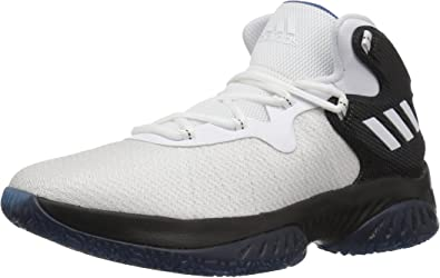 adidas Crazy Heat Junior/'s Boys Girls Basketball Trainers White Black New