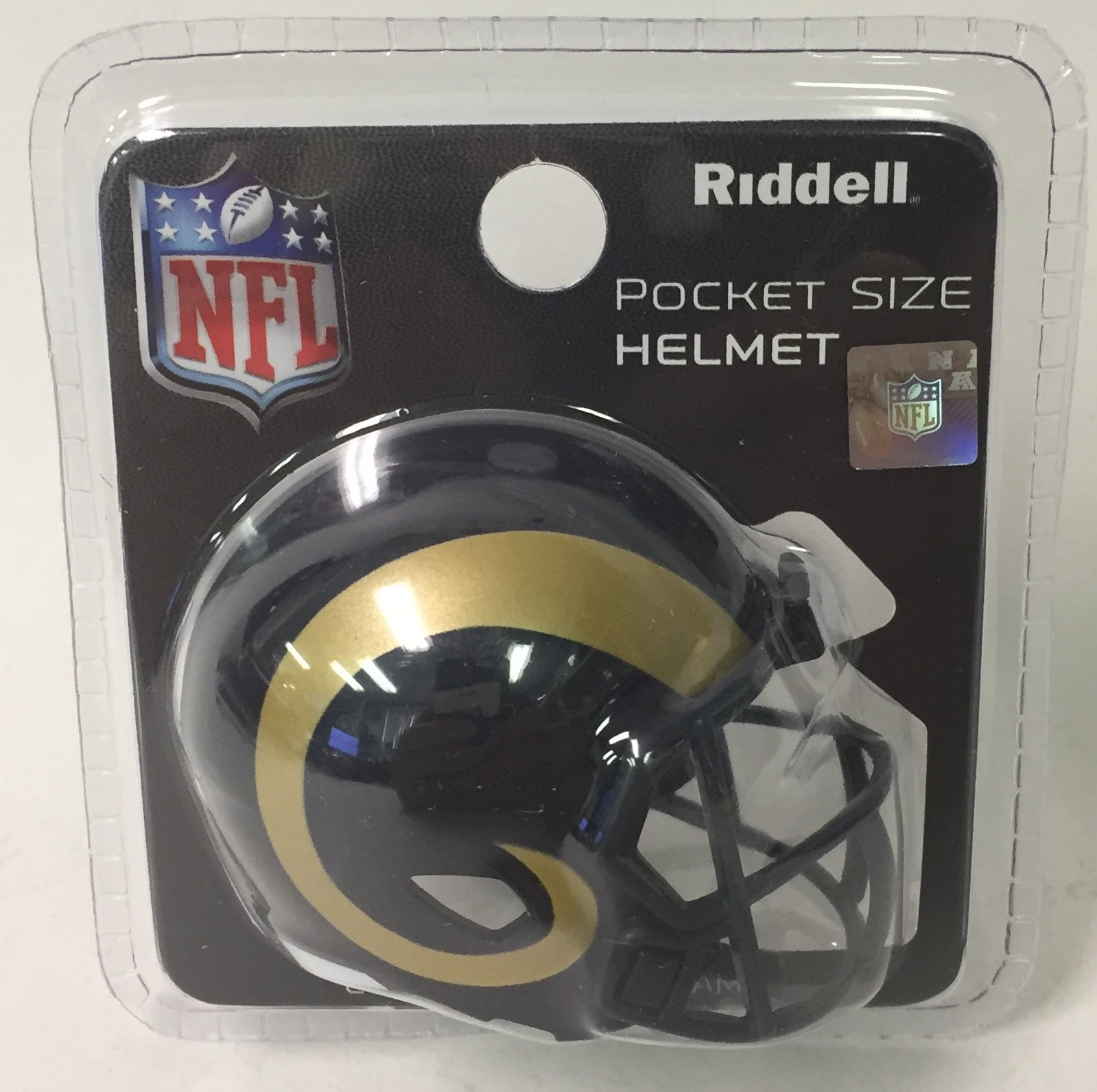 St. Louis / LA Rams Riddell Speed Pocket Pro Football Helmet New in package