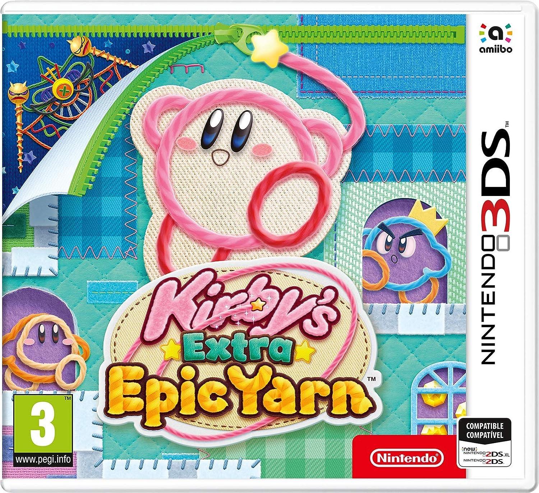 3DS Kirby Extra Epic Yarn (Más Kirby en el reino de los hilos ...
