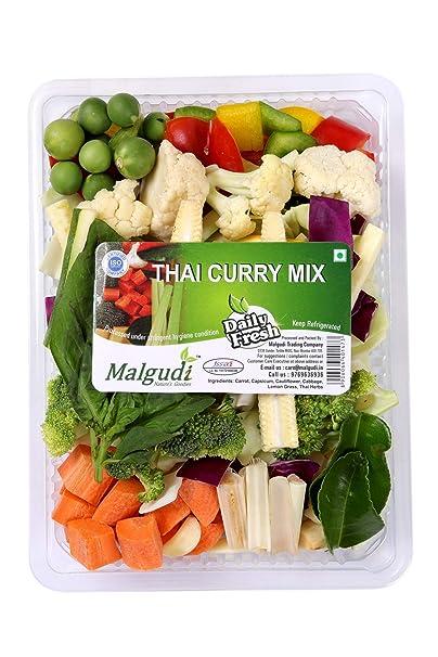 Fresh Thai Curry Vegetables, 250g