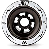 Magneto kiloVolt 90 mm Longboard Wheels | Large Wheels | Designed for Speed | DIY Electric Skateboard Compatible