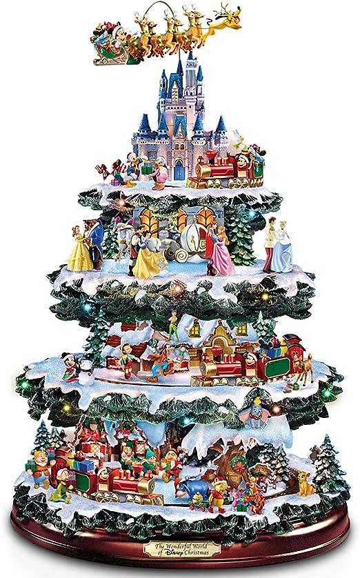 Disney de mesa árbol de Navidad: el maravilloso mundo de Disney por el Bradford Exchange por el Bradford Exchange: Amazon.es: Hogar