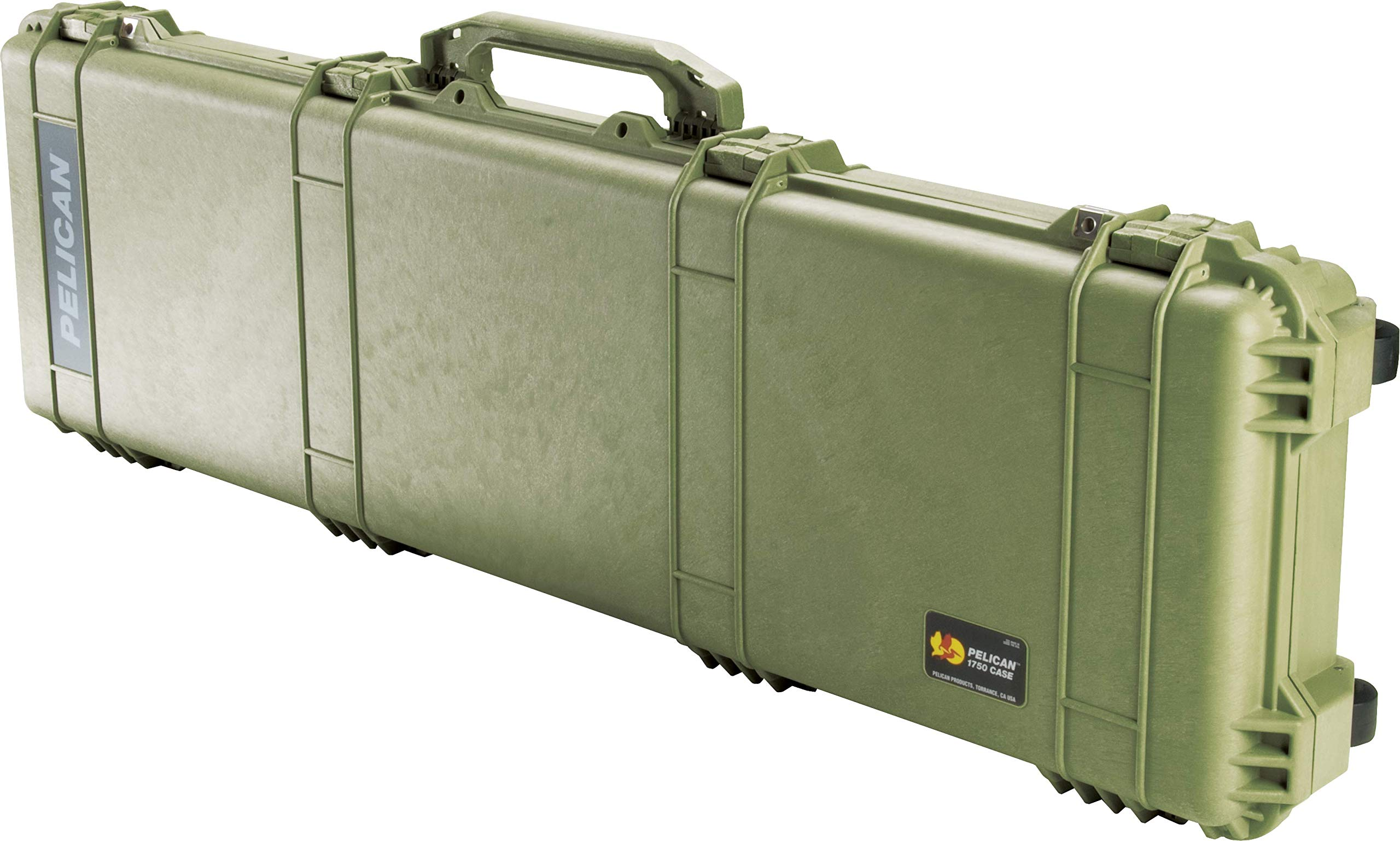 Pelican 1750 Rifle Case With Foam (OD Green) by Pelican