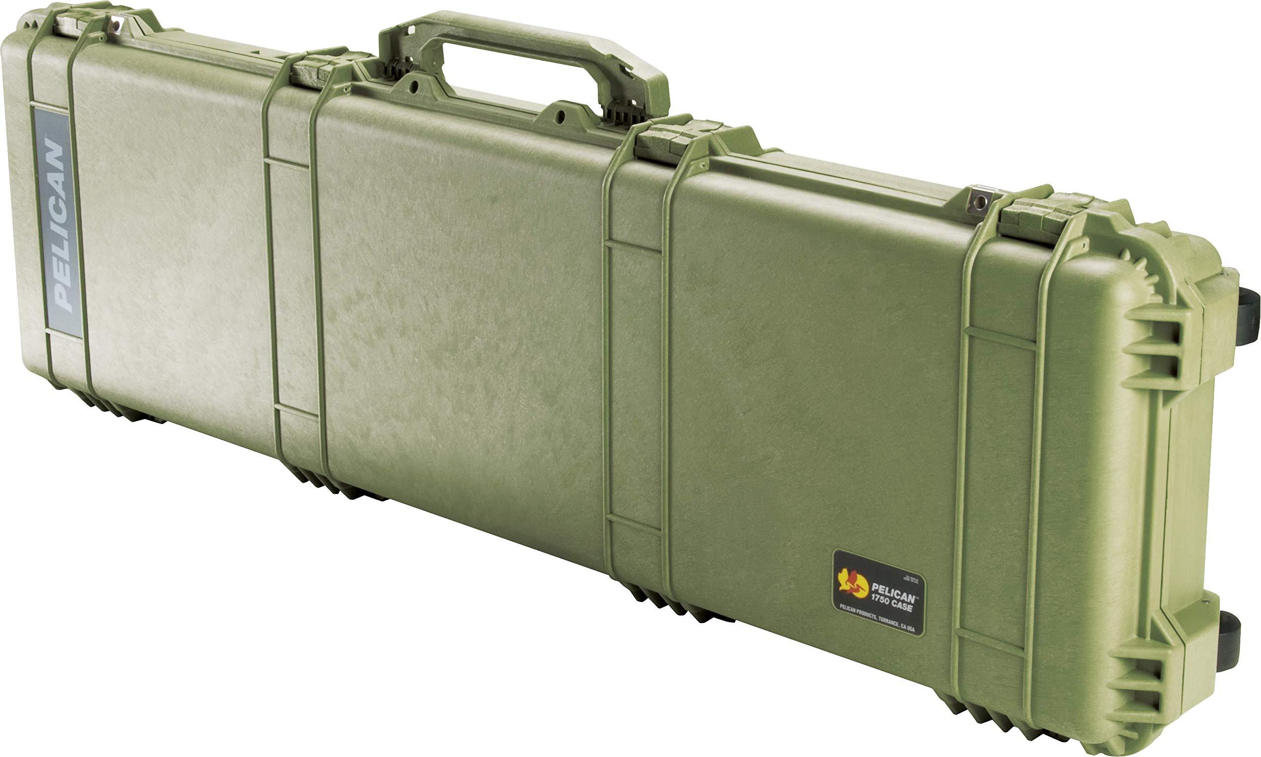 Estuche : Pelican 1750 Para Rifle Con Espuma Verde