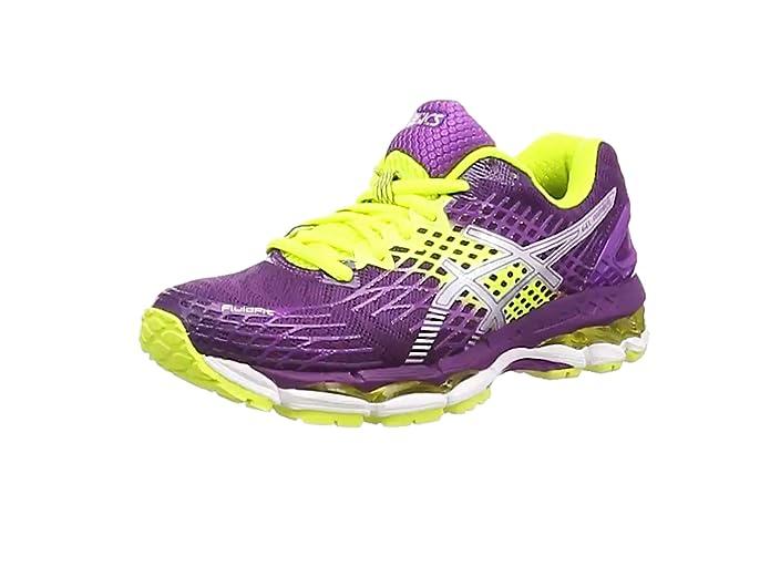 Asics Gel-Nimbus 17 - zapatillas deportivas, de entrenamiento, para mujer, rosa (Rose), 35,5: Amazon.es: Zapatos y complementos