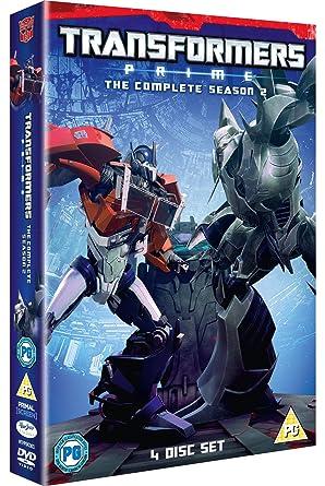 Amazon. Com: transformers: prime the complete series boxset [blu.