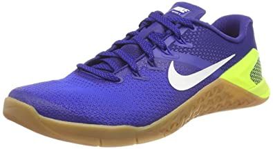 1f7f0ef5efea0 Nike Metcon 4, Chaussures de Fitness Homme, Multicolore (Volt White-Racer