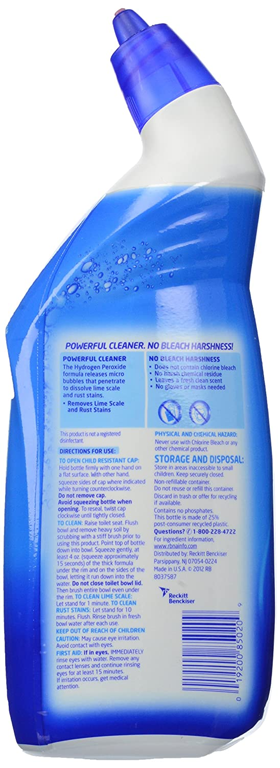 Hydrogen peroxide bathroom cleaner - Amazon Com Lysol Hydrogen Peroxide Toilet Bowl Cleaner Fresh 24oz Home Improvement