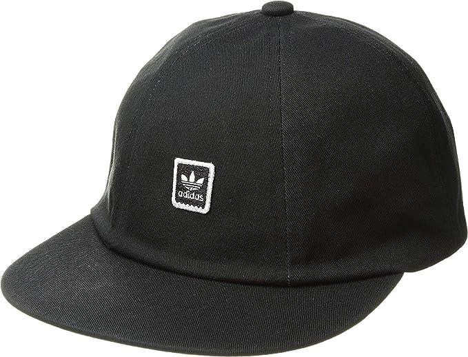 Amazon.com  adidas Skateboarding Men s Mod 6 Panel Hat Black One ... 10320ca2a1b