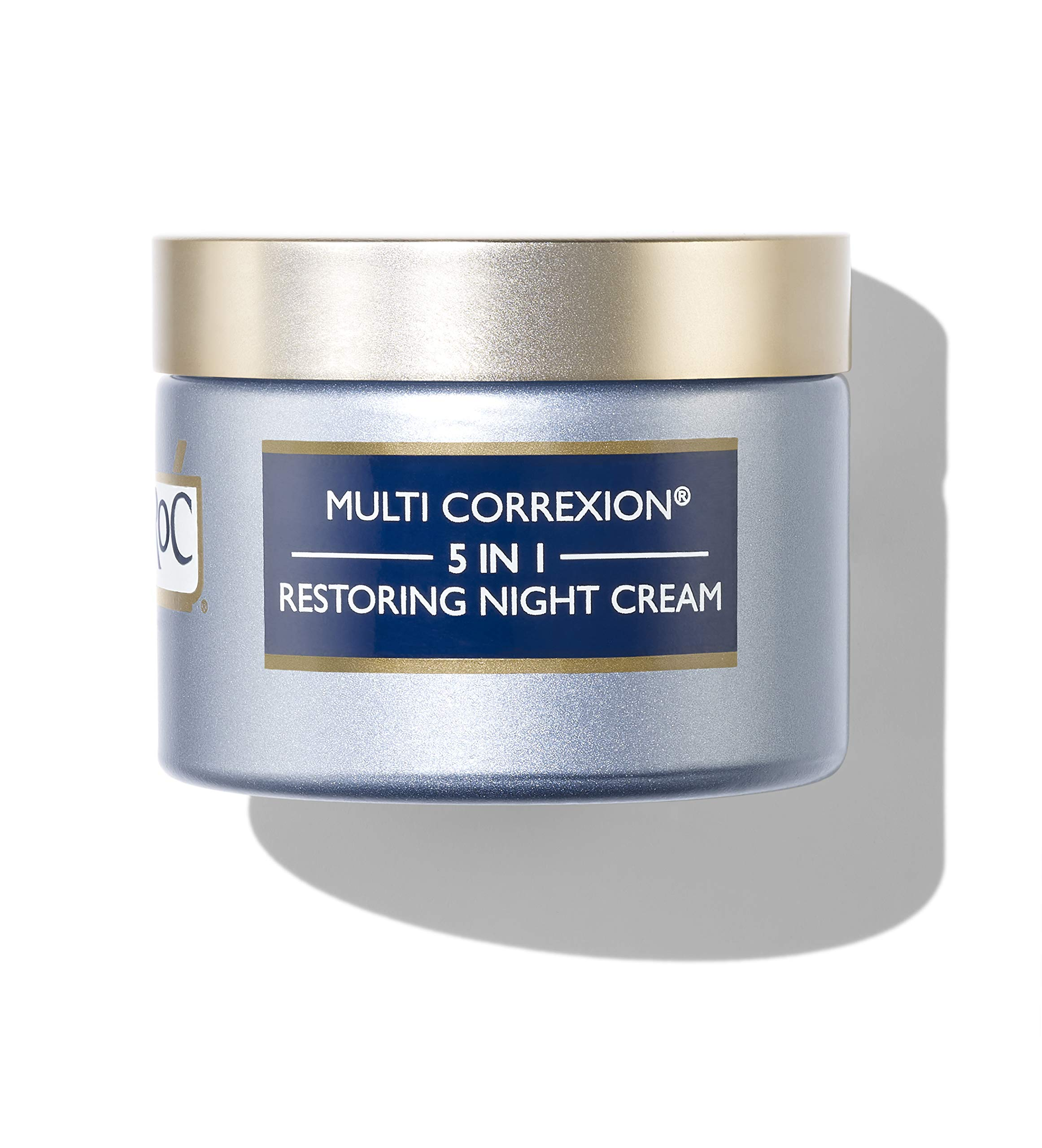 RoC Multi Correxion 5 in 1 Restoring Anti-Aging Facial Night Cream with Hexinol, 1.7 Ounces