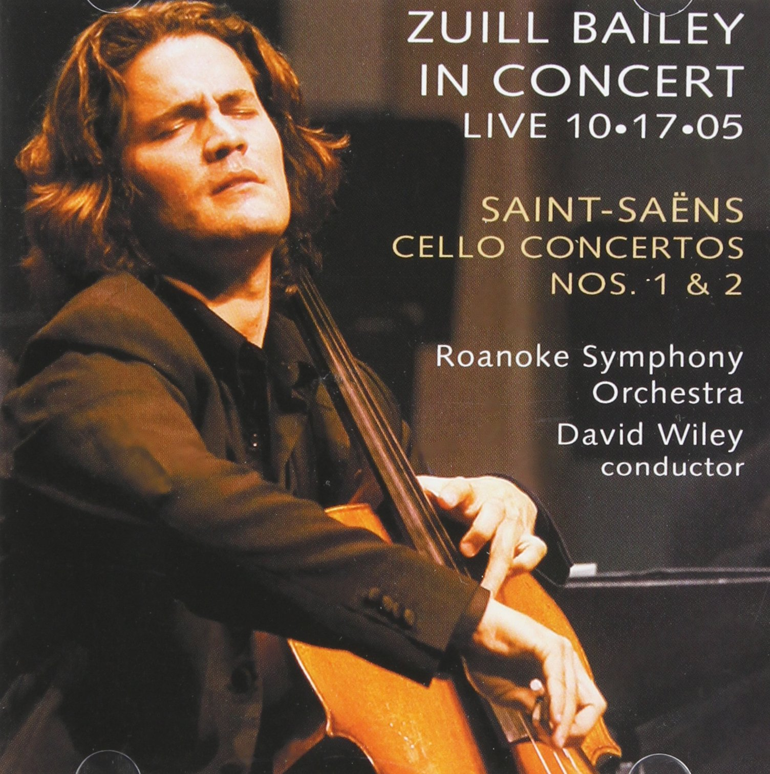 Saint Saens: Cello Concertos 1&2, Live in Concert by Delos