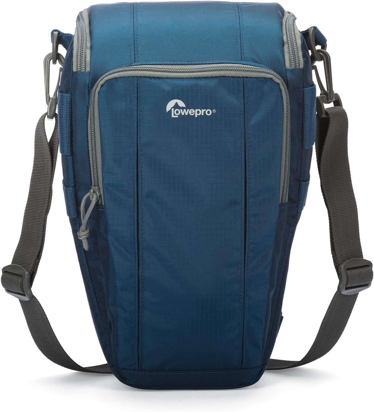 Lowepro Toploader Zoom 55 AW II Camera Case for DSLR and Lens, Blue