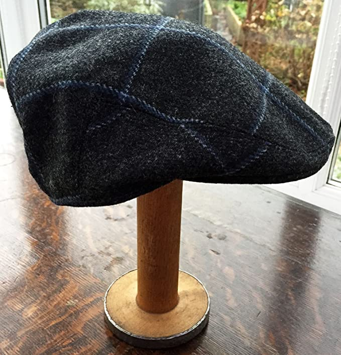 Yorkshire hand tailored wool tweed flat cap Ribble Blue MADE IN BRITAIN hat 1c9537bd4d2