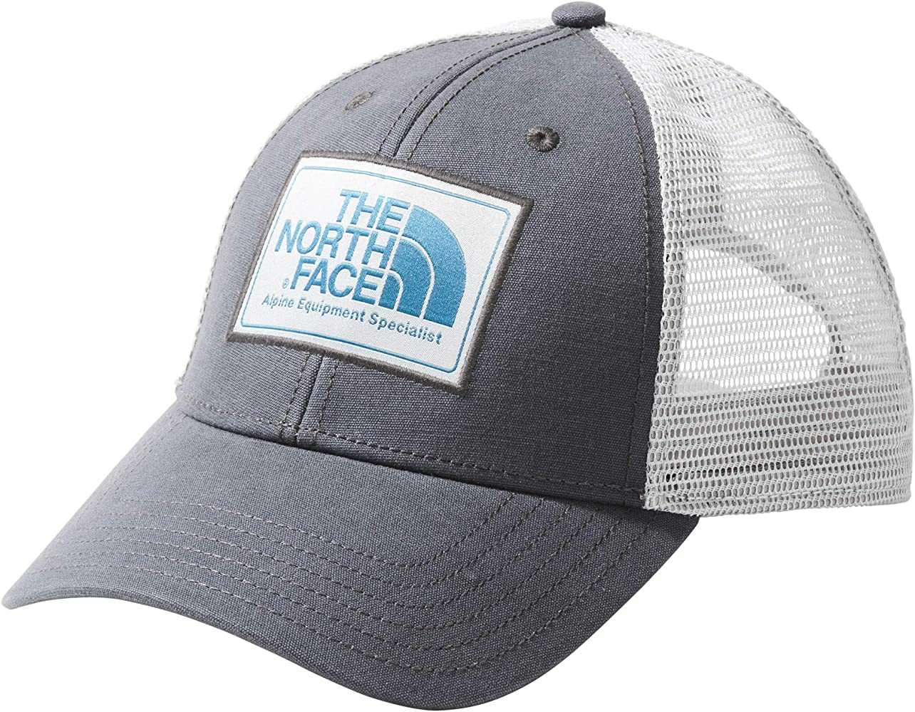 9dc66a62db94c4 The North Face Mudder Trucker Hat, Asphalt Grey/High Rise Grey/Crystal  Teal, Size OS at Amazon Men's Clothing store: