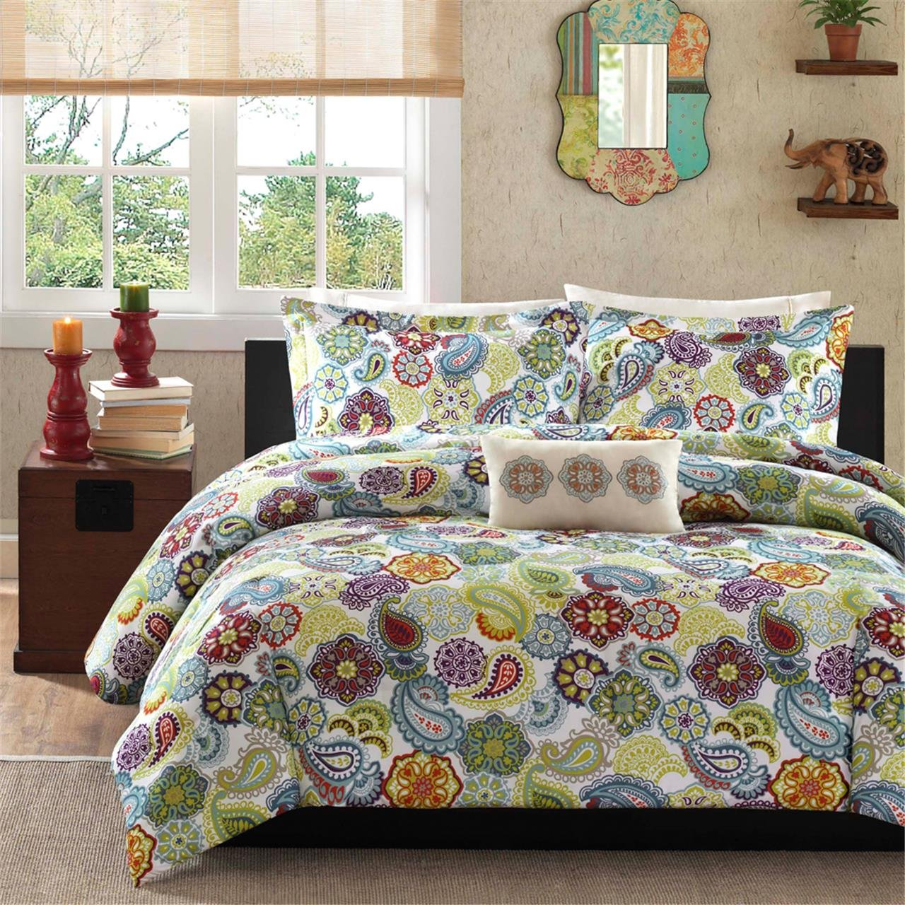 Mi-Zone Tamil Comforter Set, Twin/Twin X-Large