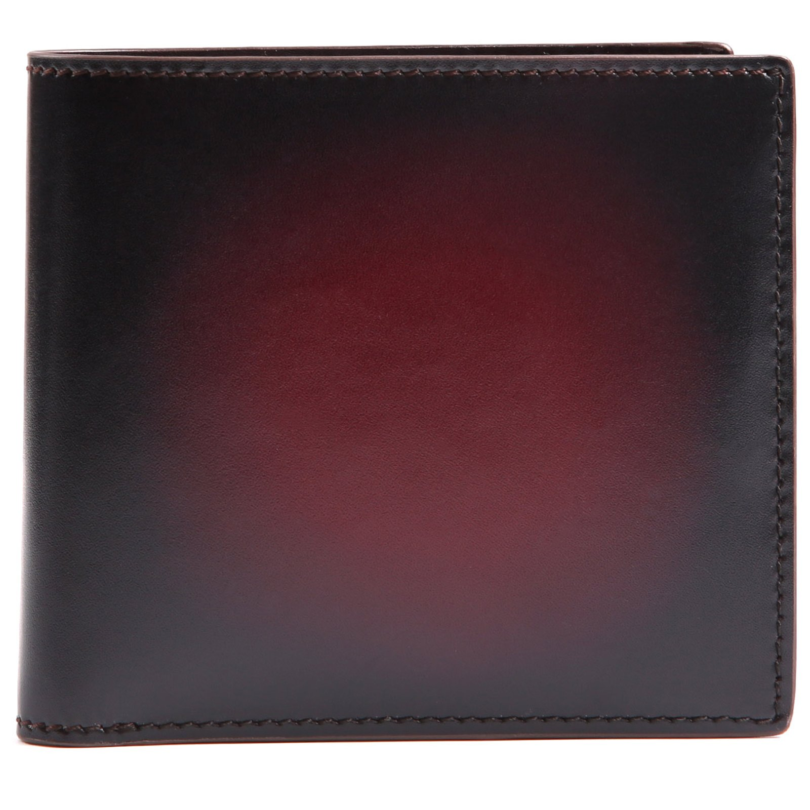 Terse Slim Bifold Wallet,Italy Leather Wallet For Men with Money Clip Credit Card Holder