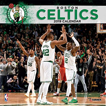 12fdc0df Image Unavailable. Image not available for. Color: Turner 1 Sport Boston  Celtics 2019 12X12 Team Wall Calendar ...