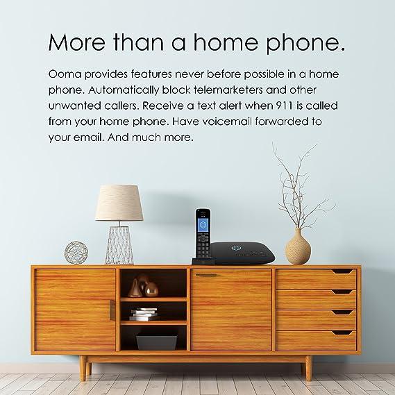 Amazon Ooma Telo Free Home Phone Service Electronics
