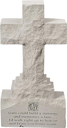 Design Toscano Spiritual Reflections Pet Memorial Cast Stone Garden Cross Statue