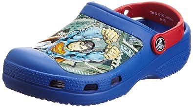 a0d576ddf06a Crocs Kids 14017 Superman Clog (Toddler Little Kid)